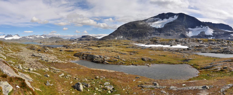 10 Sognefjell mit Blick Richtung Jotunheimen Nationalpark