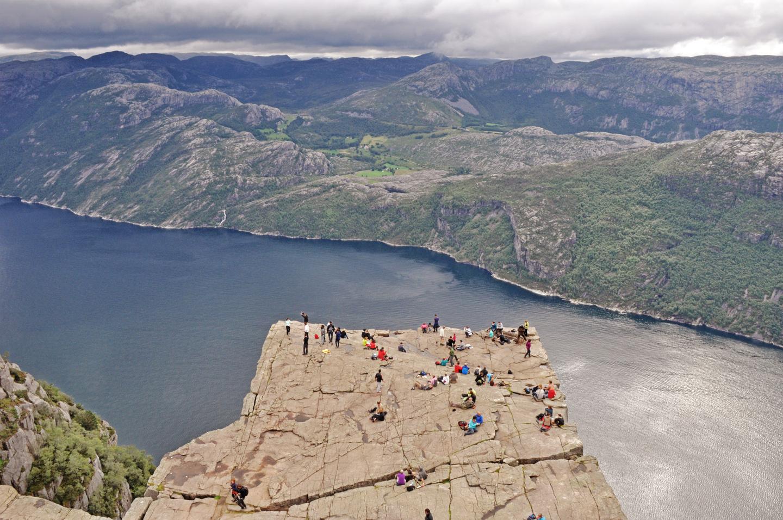 7 Ein Klassiker - der Preikestolen am Lysefjord
