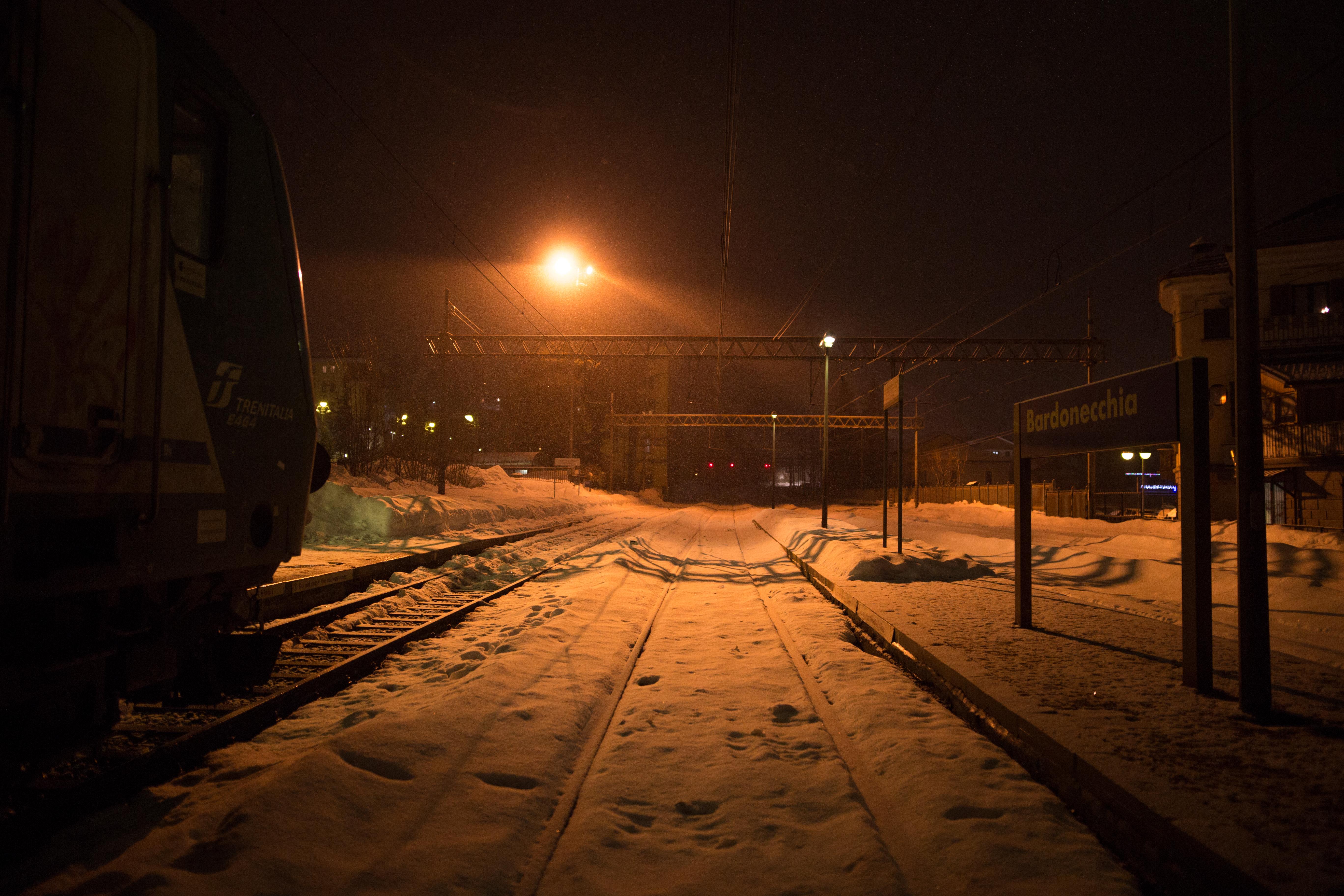Der Bahnhof von Bardonecchia. Wo eine parallele Welt existiert.